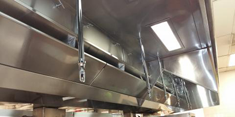 Kitchen Hoods and Grease Exhaust Systems Cleaning